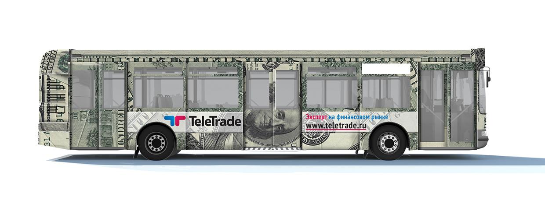 Teletrade bus adv