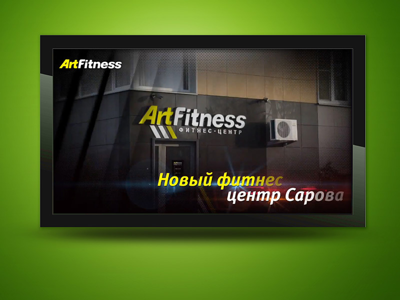 ArtFitness Promo video
